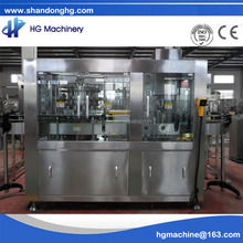 SUS Automatic CE standard new condition 12-1 canning machine for sparkling vodka with the capacity of 3000-5000CPH