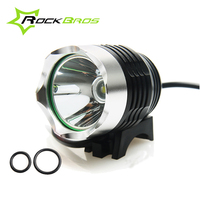 ROCKBROS 2 Model MTB Mountain Bike Cycling Handlebar Bicycle Light Suits And Bike Front Led Head Light With USB