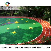 Professional plastic runway material high quality safety EPDM granules
