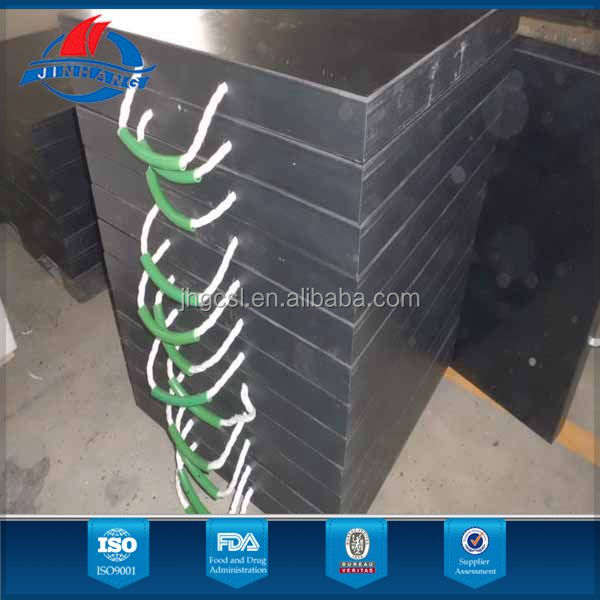 colorful portable eco uhmw-pe pad of lift truck fromJinhang plastic