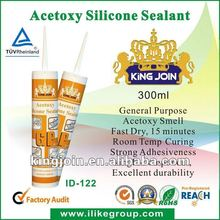Fast Curing Industrial Chemical Acetoxy Silicone Sealant (SGS,REACH)