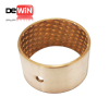 DW40 customized Bronze sleeve bearings with diamond oil indents