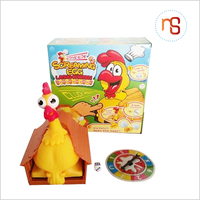 Hot selling funny lays eggs chicken squeeze toy with good quality