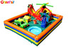 Chopperville kids inflatable playland combo jumper