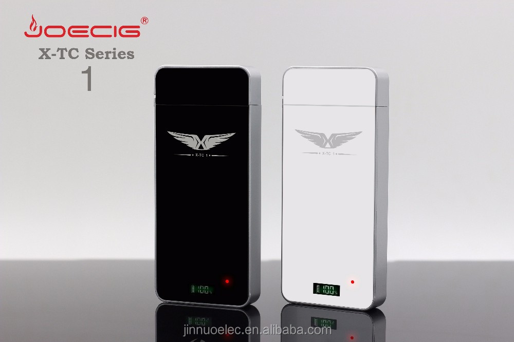 hot new imports e-cig kit x-tc 1 rechargeable PCC case