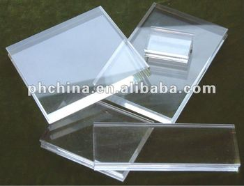 High polished acrylic sheet small acrylic pipe 5mm thick for Acrylic glass block