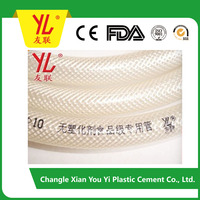 No plasticized food grade PVC clear hose