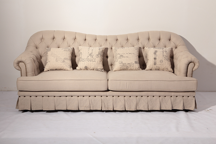 2015 French Provincial Two Seat Tufted Sofa Buy Design