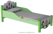 Cute style cheap bedroom furniture, wooden baby bed designs, kid furniture bunk beds