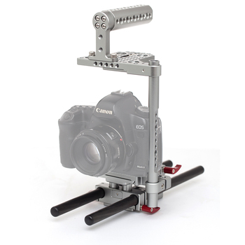 Kingjoy High Precision Universal Anodized Aluminum Camera Cage Kit KH-6820