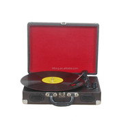 factory direct supply portable vinyl record player with good price