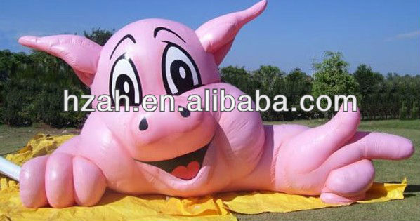Event Decoration Inflatable Pig Cartoon