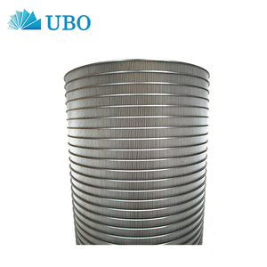 High effective Reverse Rolled Sieve Bend Wedge Wire Screen for Sand Control