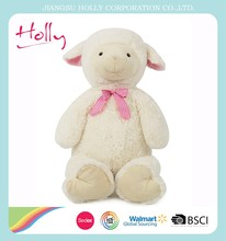 Baby Safe Softly cute sleep sheep plush toy for wholesale