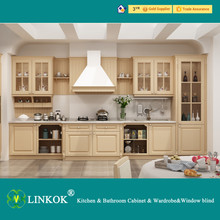 Flat panel kitchen cabinets and pvc coated kitchen cabinet and kitchen cabinet polymer composite panel