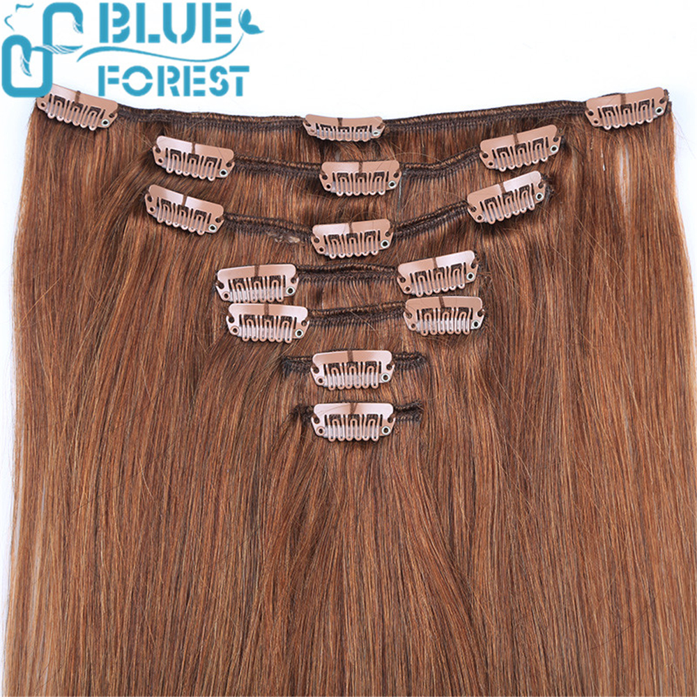 clip in natural straight hair extensions