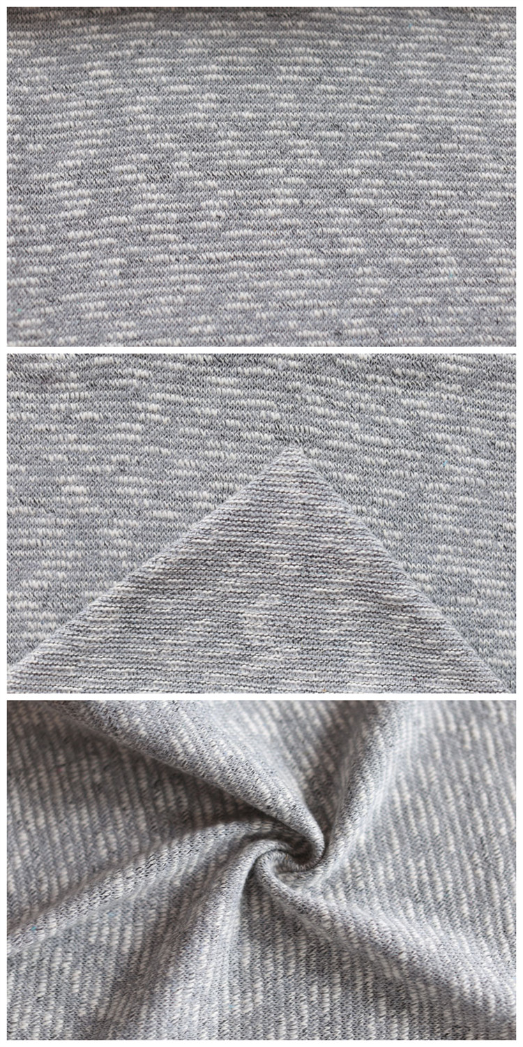 Manufacturer Factory Elastic Coarse Knitting Polyester Fabric Fine Cotton Fabric