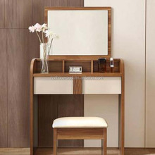 Houseware portable Mdf panle dresser mirrored dressing desk