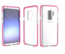 2018 Amazon Hot Selling Shockproof D30 Military Material TPU Clear S9 Plus Cover, For Samsung Galaxy S9 Phone Case