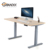 Mobile height adjustable computer workstation,electric 3 stages standing desk for PC/notebook