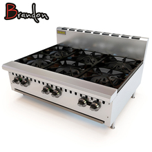 Gas Stove Manufacturers Indoor Kitchen Table Top Gas Cooker 6 Burner