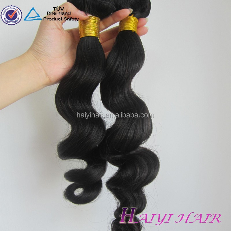 100 Percent peruvian human hair weave bundles raw virgin loose wave hair natural black remy peruvian virgin hair