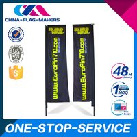 New Product Cheap Prices Sales High Quality Rectangular Flag