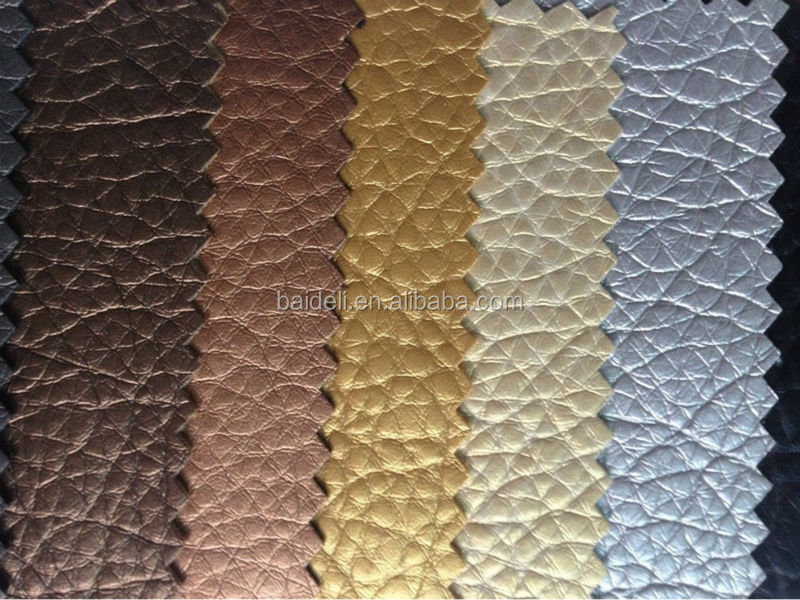 lichee embossed surface pvc leather for book cover, seats cover