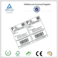 Half Letter Size Plain Paper Sheets adhesive shipping label a4 sheet