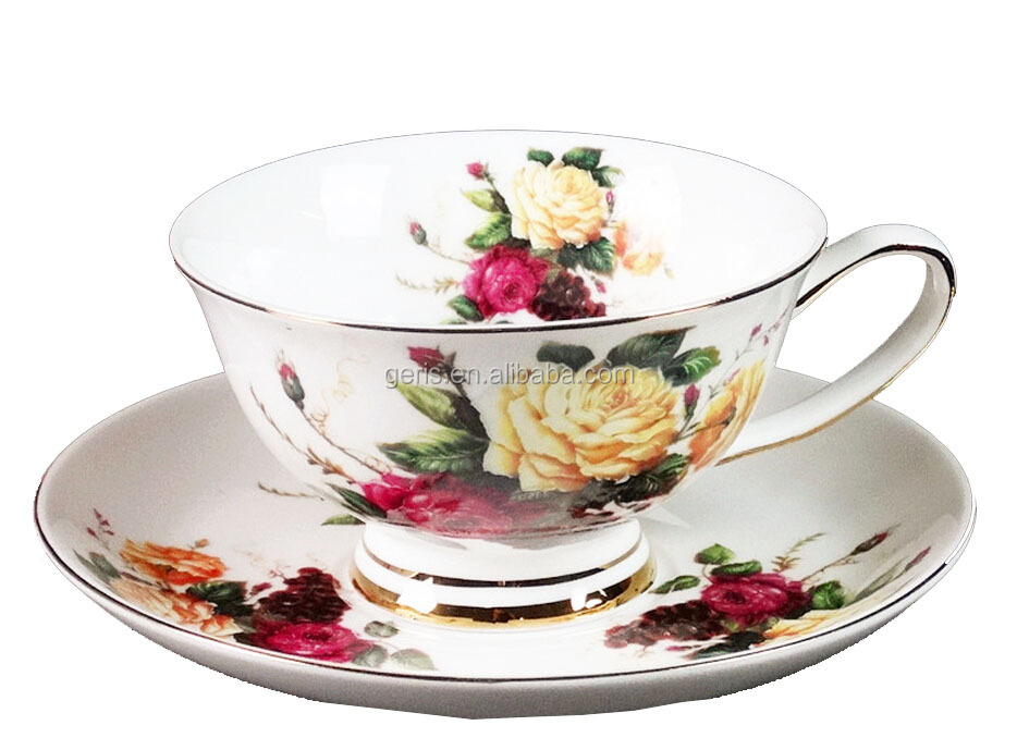GRS 180 cc bone china cup and saucer