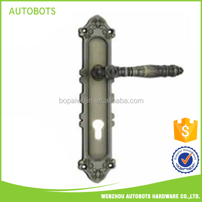 wholesale lever door handles and locks/ lever door handle set made in china