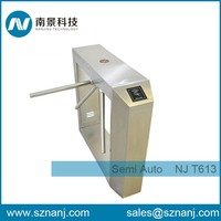 Waist High barcode turnstile manual tripod barrier gate