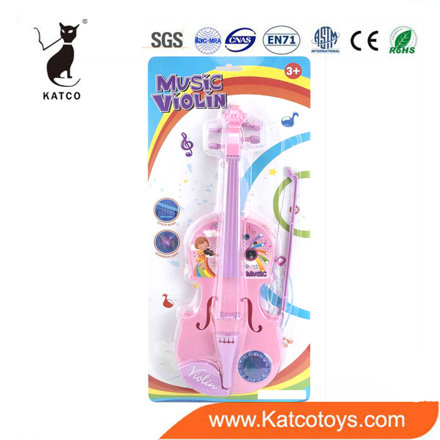 High Quality Cheap Price Music Instruments Toy Children Electric Violin With Light And Music