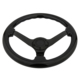 Black Racing Car Steering Wheel JDM Steering Wheels for VW Universal Car