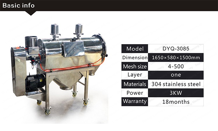 Microns Mesh Sieves High Precision Sieving Pollen Vibrating Screen Separator
