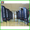 Custom Sublimation Feather Wing Flags and Fiberglass pole