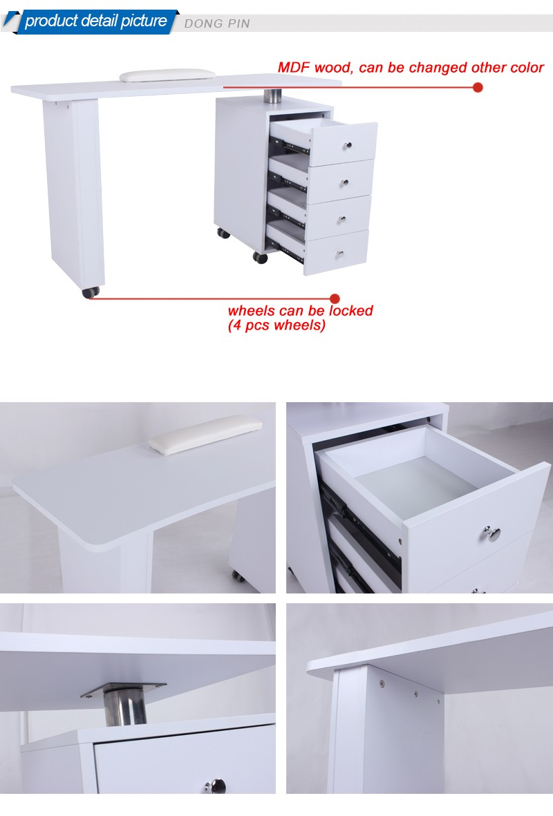 Cheap nail manicure desk styling stations buy nail for Cheap nail desk