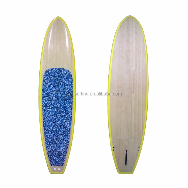 2018 hot selling bamboo outlook wholesale SUP stand up paddle board/ cheap paddle boards/ paddle board