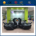 2016 hot CE certificate PVC large summer pool float for adults and children black inflatable swan float