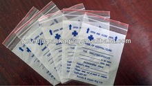 tablet dispensing bags/medicine poly bag/mediciation packing bags