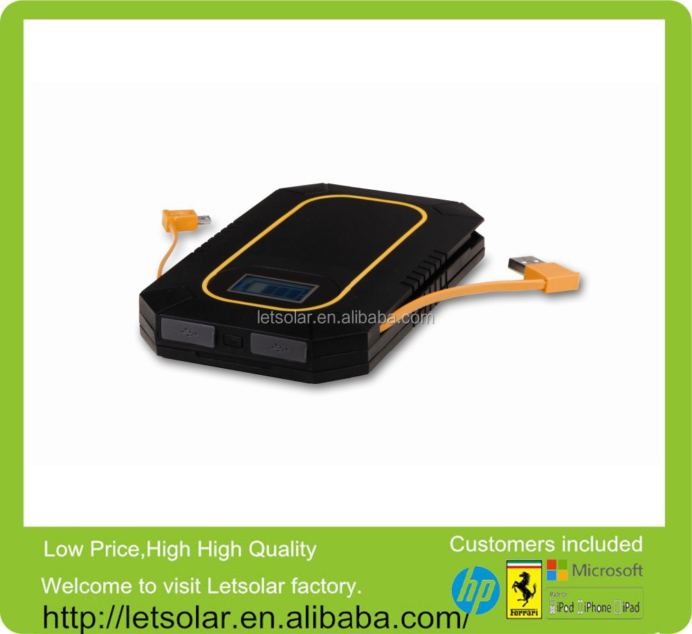 LETSOLAR 6000mAh LET54BH high efficiency solar charger,solar charger case for nokia mobile for iPhone 6 ,iPad & Smart phone