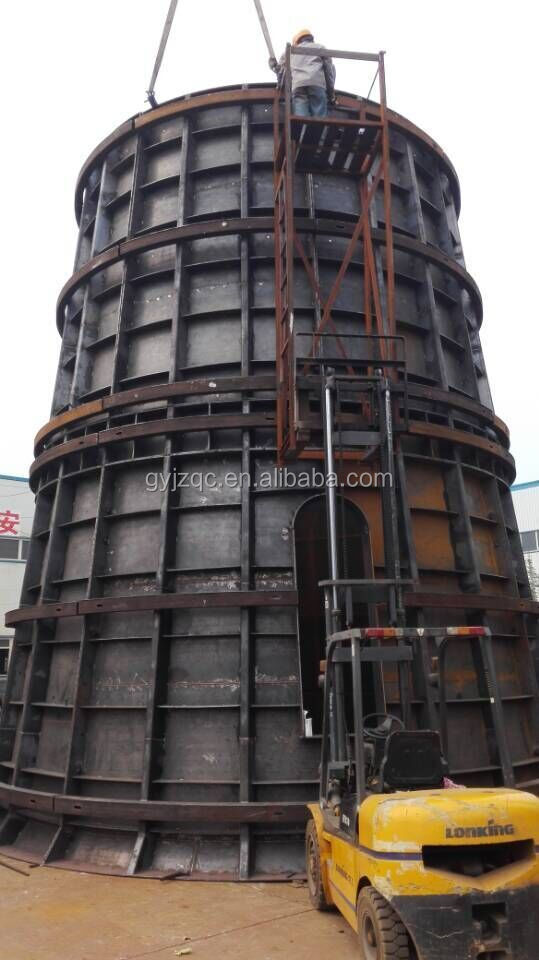 Metal Building Pillar : Construction steel formwork for pillar china manufacturer