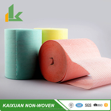 super absorbent nonwoven wipes for kitchen use, impregnated nonwoven fabric printed cleaning cloth, colored duster cloth