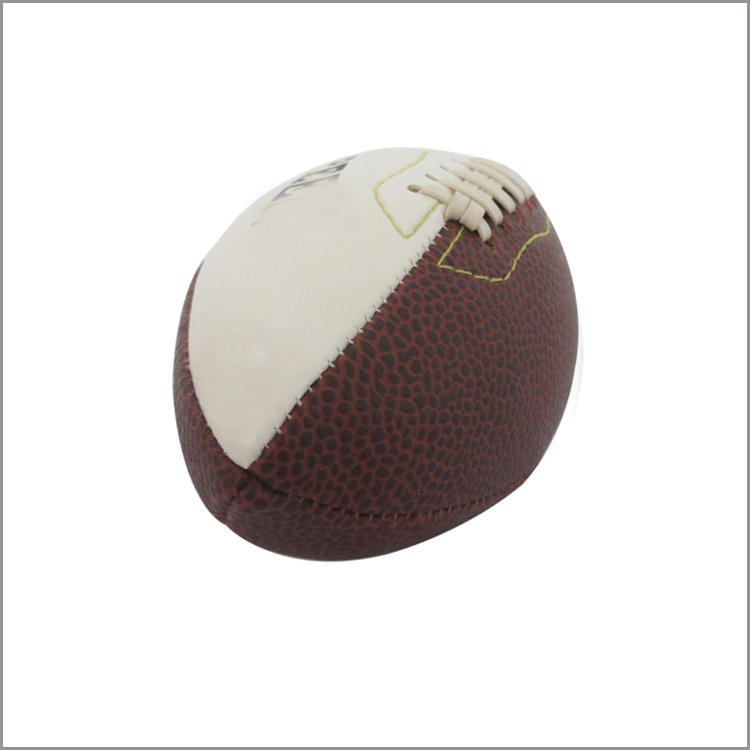 PVC leather machine stitched rugby ball item