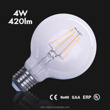 4W LED Fireworks Filament light ST64 G80 vintage edison style led starry light bulb