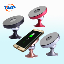 Aluminum alloy car mount fast wireless charger for mobile phone with factory price