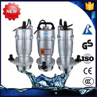 Silent QDX 1.5 hp submersible water pump for agricultural irrigation