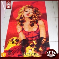 2014 3d picture woman sex with animal photo towel