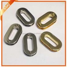 Wholesale bag accessory metal oval eyelets/shoe eyelet/metal screws eyelet