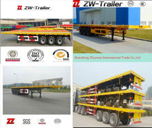 2014 newest competitive price 2/3 platform car transportation